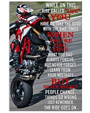 ducat ride go on poster 11x17 Poster front