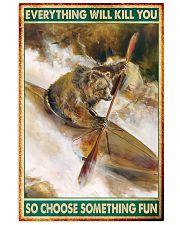 bear kayak Choose ST Fun pt mttn nna 16x24 Poster front