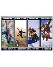 skydiving jump explanation pt phq ngt 17x11 Poster front
