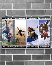 skydiving jump explanation pt phq ngt 17x11 Poster poster-landscape-17x11-lifestyle-18