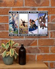 skydiving jump explanation pt phq ngt 17x11 Poster poster-landscape-17x11-lifestyle-23