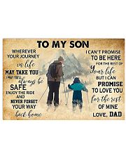 skiing-dad-to-my-son-pt-lqt-nna 17x11 Poster front