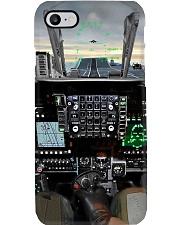 jet fighter cockpit pc mttn ntv Phone Case i-phone-8-case