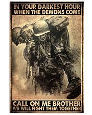 veteran fight them together pt ttb ngt 11x17 Poster front