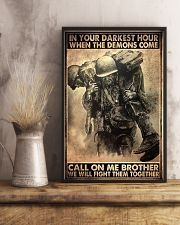 veteran fight them together pt ttb ngt 11x17 Poster lifestyle-poster-3