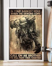 veteran fight them together pt ttb ngt 11x17 Poster lifestyle-poster-4