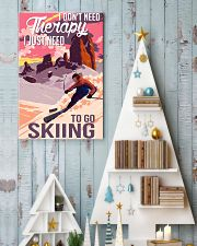 skiing dont need therapy 11x17 Poster lifestyle-holiday-poster-2