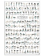 yoga-pose-poster Vertical Poster tile