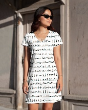 yoga-pose-poster All-over Dress aos-dress-front-lifestyle-1