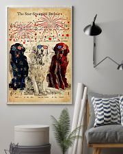 Golden Retriever the star spangled banner poster 11x17 Poster lifestyle-poster-1