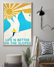 skiing life is better 11x17 Poster lifestyle-poster-1