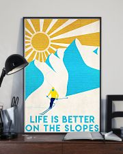 skiing life is better 11x17 Poster lifestyle-poster-2