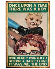 Hair Stylist boy once upon a time poster 11x17 Poster front