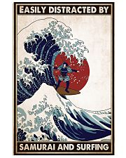 samurai surfing easily distracted pt phq pml 16x24 Poster front