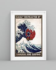 samurai surfing easily distracted pt phq pml 16x24 Poster lifestyle-poster-5