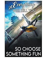 air race red choose something fun pt lqt pml 11x17 Poster front