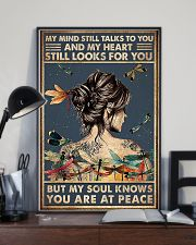 dragonfly girl peace poster 11x17 Poster lifestyle-poster-2