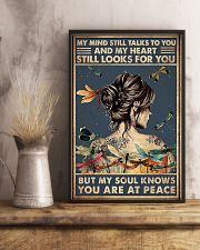dragonfly girl peace poster 11x17 Poster lifestyle-poster-3