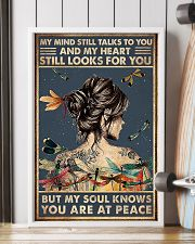 dragonfly girl peace poster 11x17 Poster lifestyle-poster-4