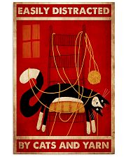 cat yarn poster 11x17 Poster front