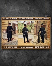 british police not a phase pt phq pml 17x11 Poster aos-poster-landscape-17x11-lifestyle-12