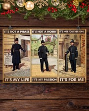 british police not a phase pt phq pml 17x11 Poster aos-poster-landscape-17x11-lifestyle-27