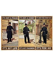 british police not a phase pt phq pml 17x11 Poster front