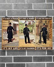 british police not a phase pt phq pml 17x11 Poster poster-landscape-17x11-lifestyle-18