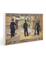 british police not a phase pt phq pml 30x20 Gallery Wrapped Canvas Prints thumbnail