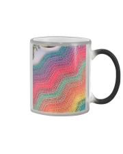 Crochet 7 phonecase  Color Changing Mug tile