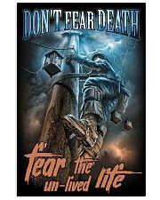 linemen don't fear death pt mttn NTH 11x17 Poster front