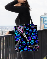 dog neon all tote lqt-NTH All-over Tote aos-all-over-tote-lifestyle-front-05