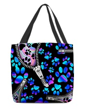 dog neon all tote lqt-NTH All-over Tote front