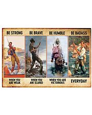 Fishing Be Strong Vintage poster ttb nna 17x11 Poster front