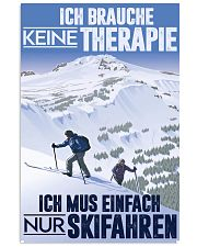 skiing germany therapy 11x17 Poster front