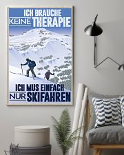 skiing germany therapy 11x17 Poster lifestyle-poster-1