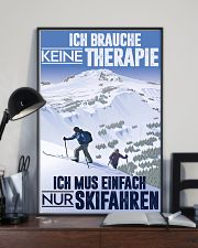 skiing germany therapy 11x17 Poster lifestyle-poster-2