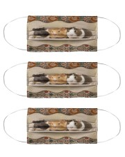Three guinea pig mas Cloth Face Mask - 3 Pack front