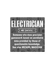 Electrician Noun mas Square Magnet thumbnail