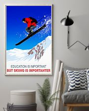 skiing education is important 11x17 Poster lifestyle-poster-1