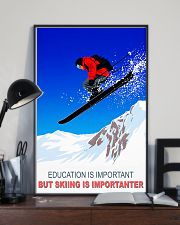 skiing education is important 11x17 Poster lifestyle-poster-2