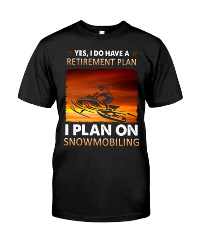 snowmobile retirement plan