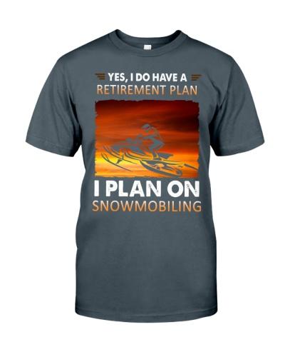 snowmobile retirement plan