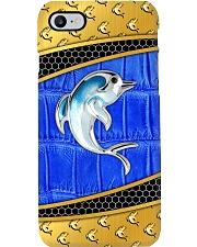 dophins blue phonecase Phone Case i-phone-8-case