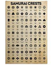 samurai crests pt lqt pml 16x24 Poster front