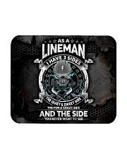 lineman 3 sides mas Mousepad tile