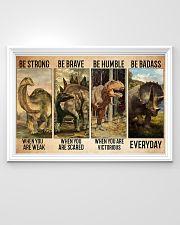 dinosaur be strong pt lqt-ntv 36x24 Poster poster-landscape-36x24-lifestyle-02
