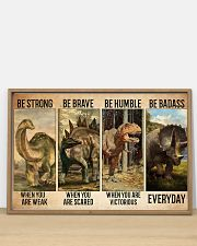 dinosaur be strong pt lqt-ntv 36x24 Poster poster-landscape-36x24-lifestyle-03