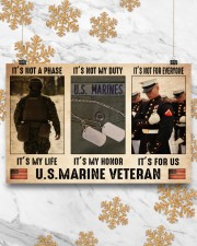 Marine its not a phase pt dvhh dqh 17x11 Poster aos-poster-landscape-17x11-lifestyle-30