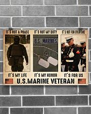 Marine its not a phase pt dvhh dqh 17x11 Poster poster-landscape-17x11-lifestyle-18